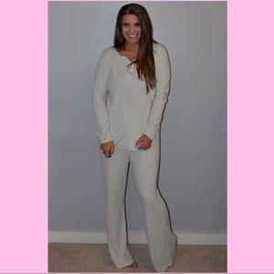 Last One- Long Sleeve Loungewear/ Pajamas -Medium